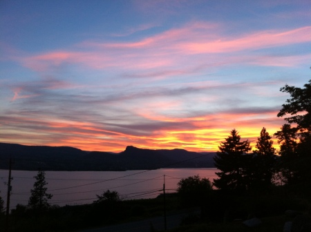 Naramata sunset